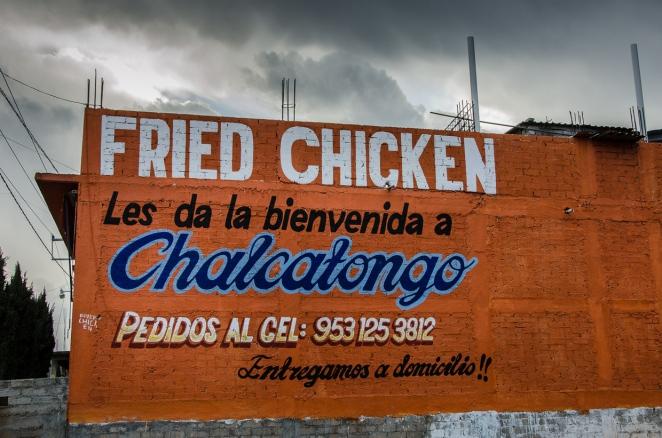 Fried Chicken in Chalcatongo