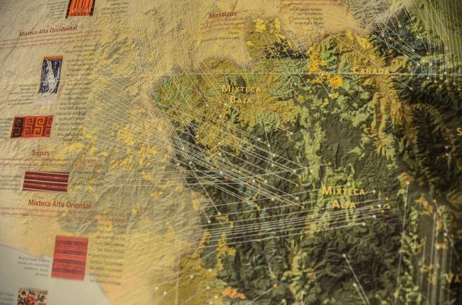 Museo Textile Oaxaca textiles treasure map